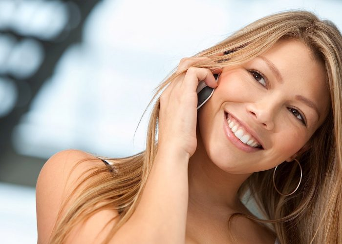 Cómo hablar por teléfono con tu novia